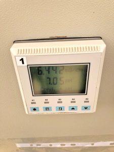 Elite Agro llc. Abu Dhabi Greenhouse Ec automated measurement
